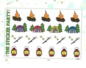 Camping Planner Stickers