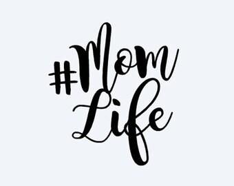 Mom life decals