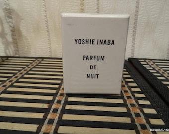 Parfum de Nuit Yoshie Inaba 7.5ml. Perfume Vintage Rare