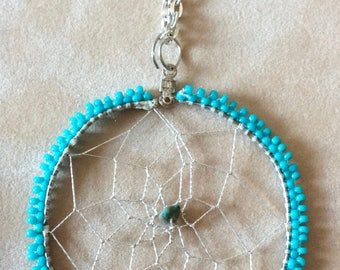 Native American Dream Catcher Pendant