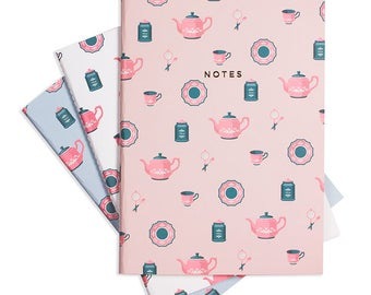 TEA TIME Notebook Set