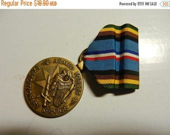 Summer Sale Vintage Armed Forces Services Medal