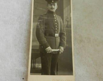 Summer Sale Original WW1 German Cabinet Card Photograph