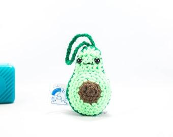 Amigurumi avocado, car accessory, crochet avocado, car accessory, auto accessory, Crochet Fruit Avocado, stuffed avocado