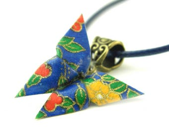 Origami necklace butterfly