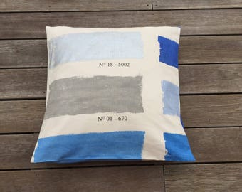 artist's palette cotton Cushion cover