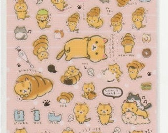 Cat Stickers - Coroco Coronya Stickers - San-x Stickers - Reference I5509