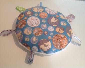 Bubble cushion, labels and or blanket, soft