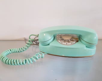Western electric etsy for Telephone mural 1970