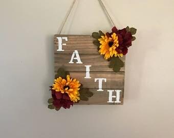 Sale - Wall Decor - Faith Sign