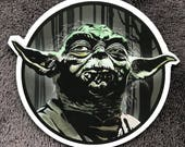 Yoda STAR WARS  Waterproof Sticker
