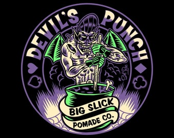 NEW! Devil's Punch Hair Pomade • Medium Hold
