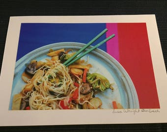 Foodie photography Greeting Card