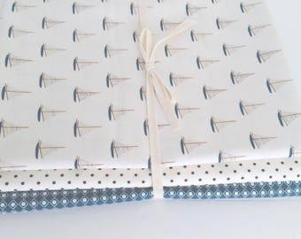 1/2 Yard Bundle Offshore Deena Rutter for Riley Blake Designs-3 Fabrics