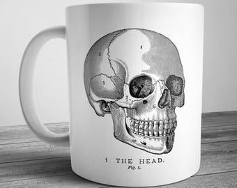 Vintage Skull Mug