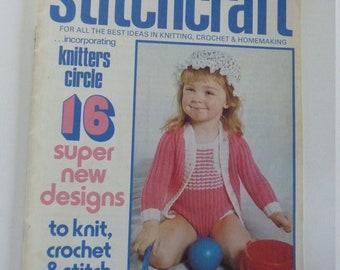Vintage STITCHCRAFT magazine June 1976 Good condition