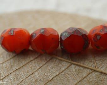 Red Rogue, Czech Beads, Beads