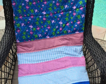 Handmade Strip Quilts for All Ages - Monogramming Available