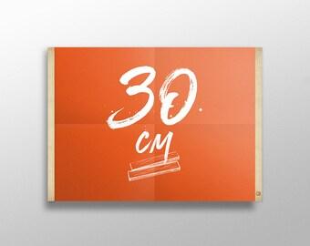 Grip Poster 30 cm | Porte affiche en bois, Cadre sérigraphie, Cadre poster, Kit affiche suspendue, Cadre photo, Cintre affiche film