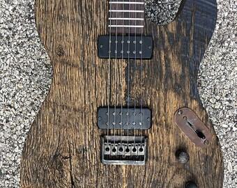 Benford Rustic electric guitar