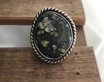 new lander, turquoise ring, statement ring, womens statement ring, ladies turquoise ring