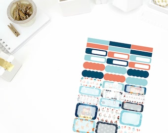 Cozy Fire Functional Stickers! Perfect for your Erin Condren Life Planner, calendar, Paper Plum, Filofax!