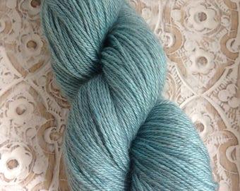 Luxury Alpaca 4ply - Baby Grey Alpaca, Silk & Cashmere (70/20/10)