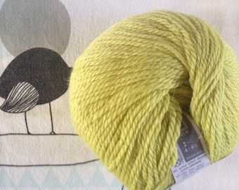 Lemon QUITO yarn - white horse