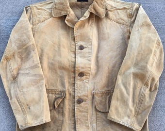 Vintage 1940s Drybak Hunting Jacket Mens Size S/M