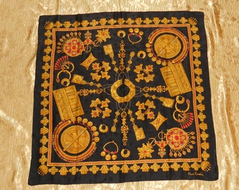 Genuine vintage Pierre Cardin scarf - all silk