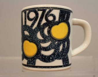 Small 1976 Annual Royal Copenhagen Mug.