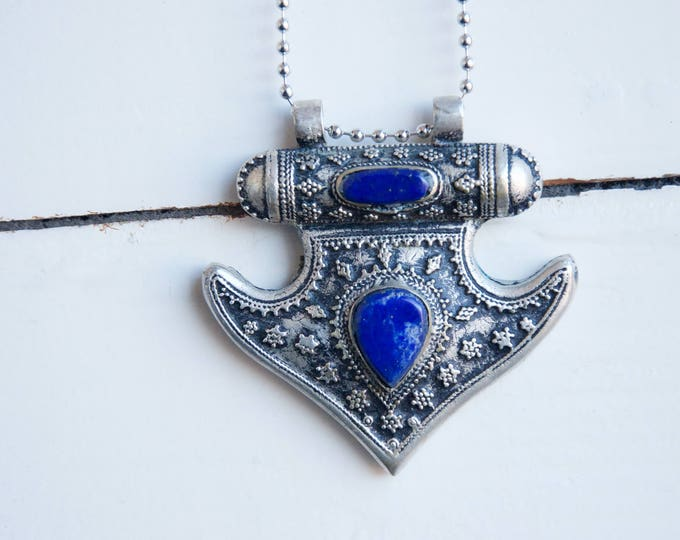 Beautiful Afghan/ Persian silver charm