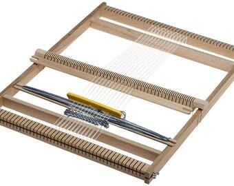 Weaving Loom Ø 50 cm | Webrahmen | Weefraam | Lap Loom | Tissage | Tapestry Weaving | Frame Loom | Handmade Wall Hanging