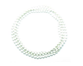 NECKLACE 60cm ball chain 2mm white