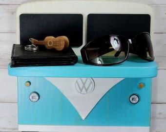Sale! 2.00 off!  IN STOCK -  Ships immediately! VW Bus. Classic Volkswagen. Shelf. Bathroom. Bedroom, childrens room