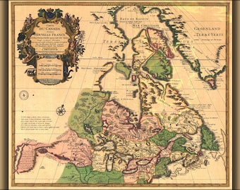 Poster, Many Sizes Available; 1730 Canada De L'Isle