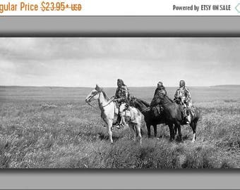20% Off Sale - Poster, Many Sizes Available; Piegan Blackfeet Chiefs Native American Indian 1900 Edward Curtis