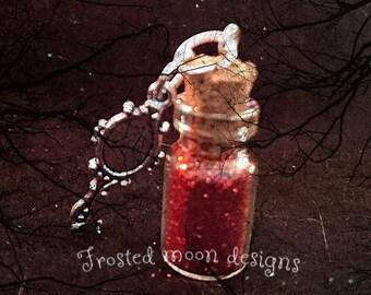 Poison apple mini wish bottle