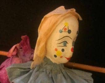 Vintage clown ART