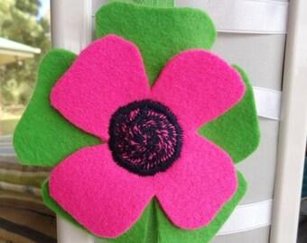 EOFY Sale Felt Flower Elastic Headband