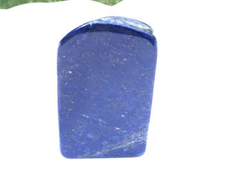 Royal Blue Lapis lazuli naturally shaped sculpture 306 grams 11.5x5.5x2cm