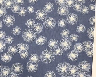 Blue Fabric - Dear Stella Honeybee - Sky Dandelion