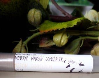 Natural Concealer| Medium Complexion| Natural Makeup| Organic Makeup| Concealer Stick| Mineral Makeup| ParabenFree Cosmetics.