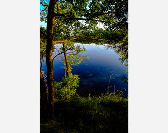 OLD ABE LAKE 4 | modern fine art photography blank note cards custom books interior wall decor affordable pictures –Rick Graves