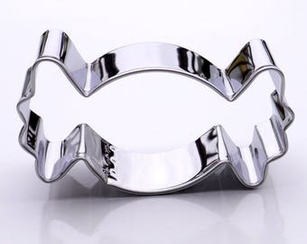 Wrapped Candy Cookie Cutter- Stainless Steel - USA FREE Shipping