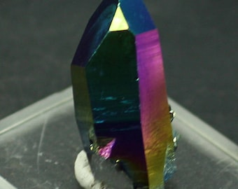Cobalt Blue Aura Quartz Crystal for Sale
