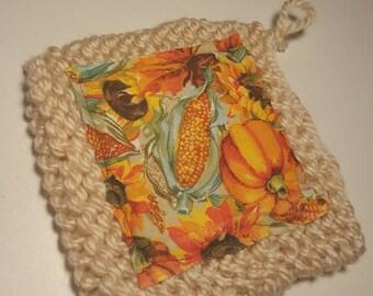 Pumpkin Harvest Pot Holders