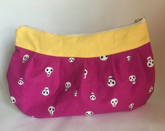 Clutch, Cotton, Yellow, skulls