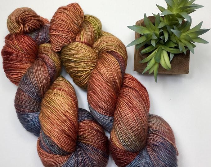 Sierra - Hand dyed on Sassy Silk 150 Sock