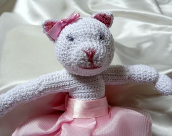 The dancer Lola plush crochet for baby or decoration
